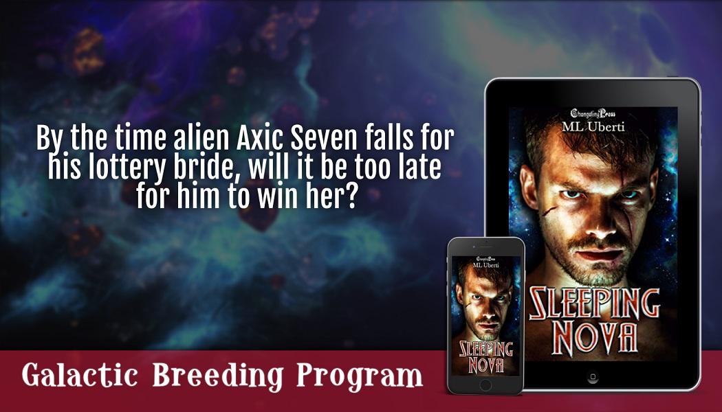Author ML Uberti Releases New Sci-fi Romance - Sleeping Nova