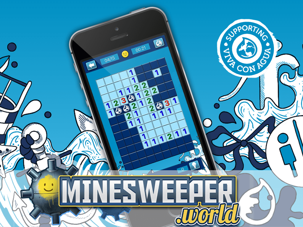 Sweep Mines for Water! LITE Games teams up with Viva con Agua to support World Water Day