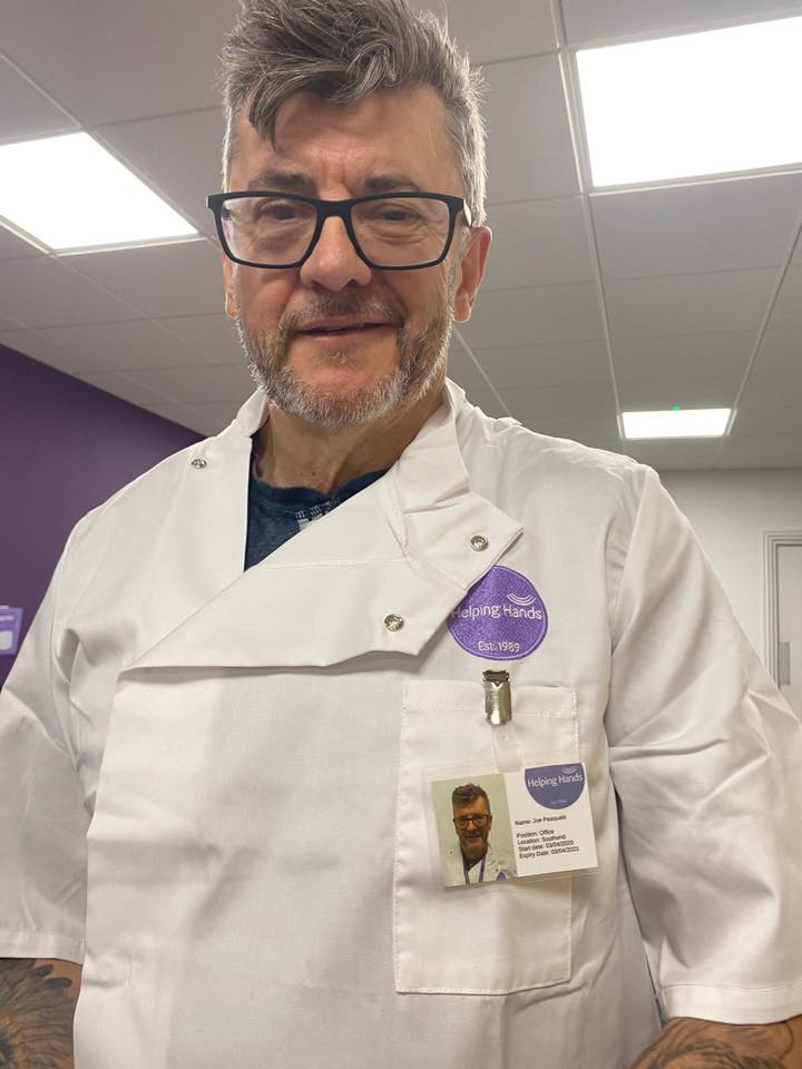 Joe Pasquale volunteers with Helping Hands to support front-line care. BBC One Show shares Joe's experience
