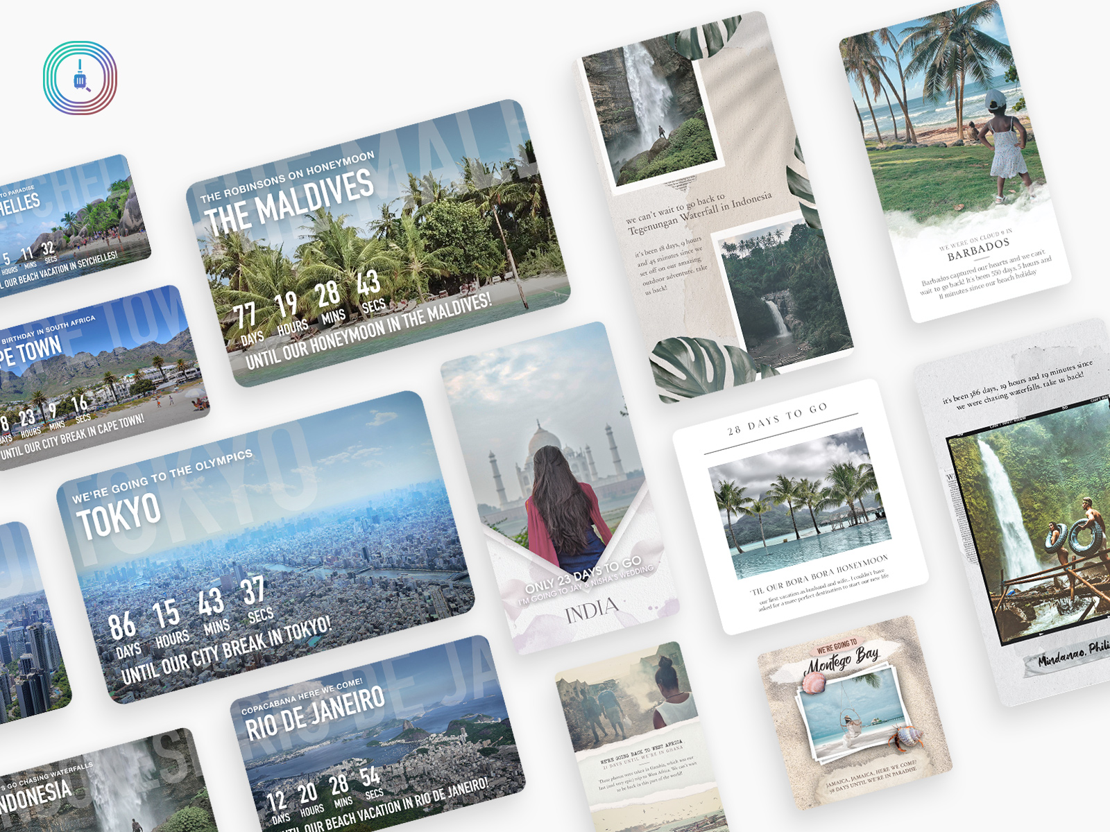 Can't Wait! New Holiday Countdown App Gets People Excited About Post-Covid Travel