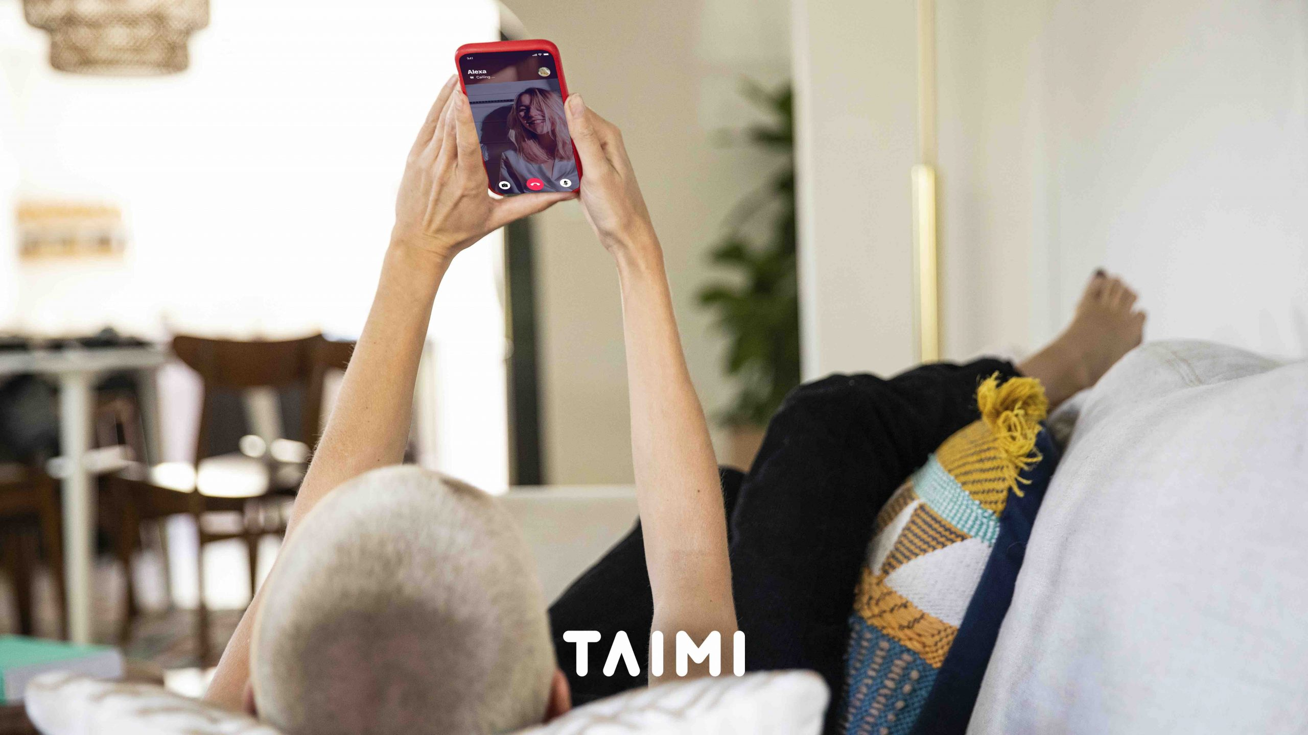 TAIMI reminds dating app users to social distance and video call each other