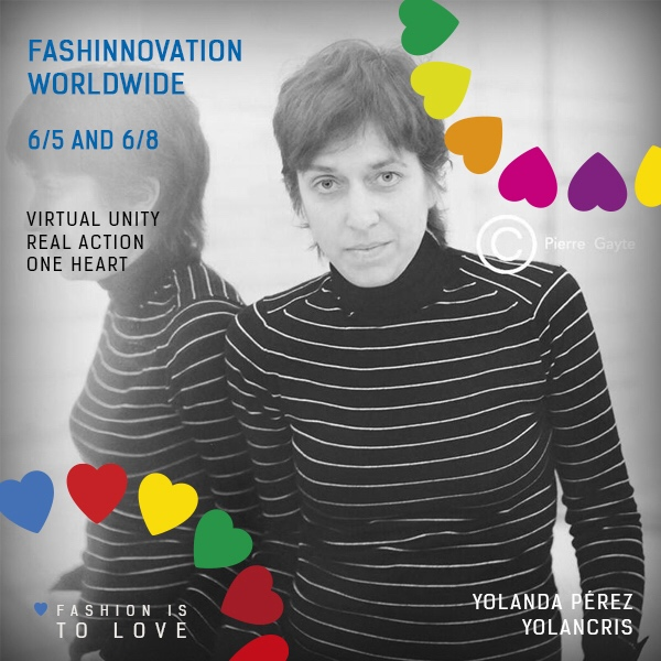 Yolancris will participate in the 2Nd Fashinnovation Worldwide Talks