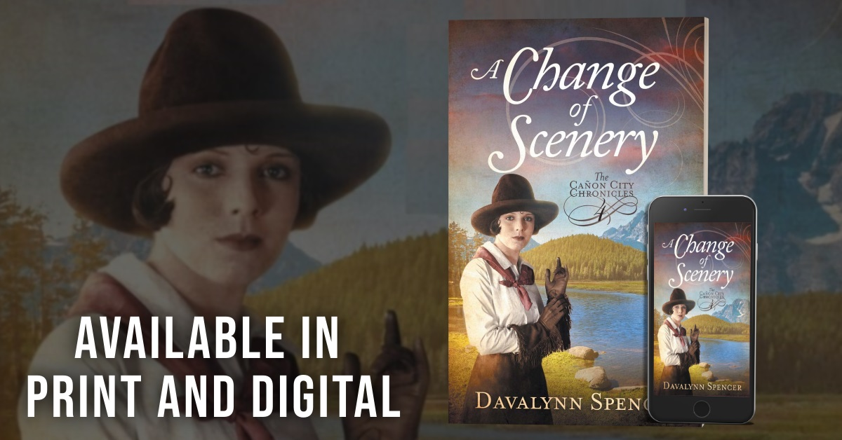 Author Davalynn Spencer Releases New Sweet Historical Romance - A Change of Scenery