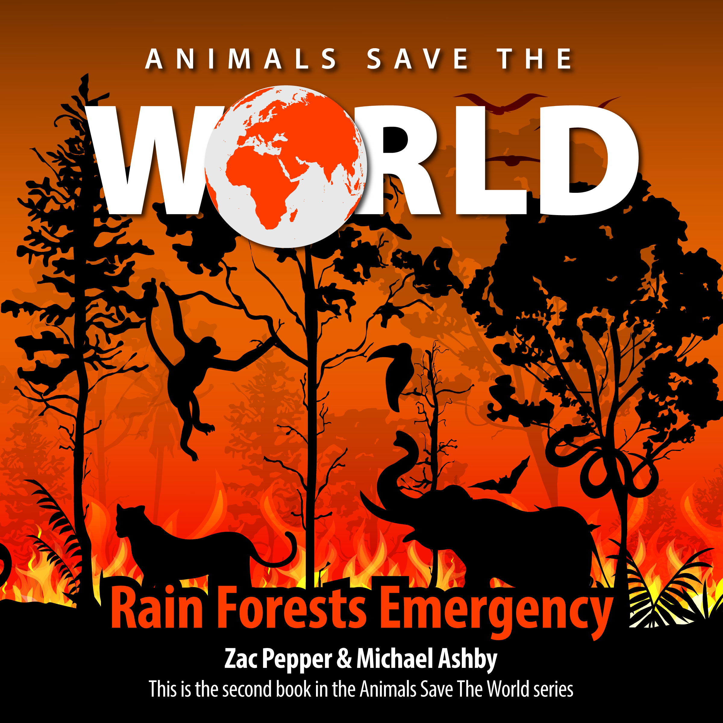 Team Animal rides to the rescue in nine-year-old Zac's latest book about the climate change emergency