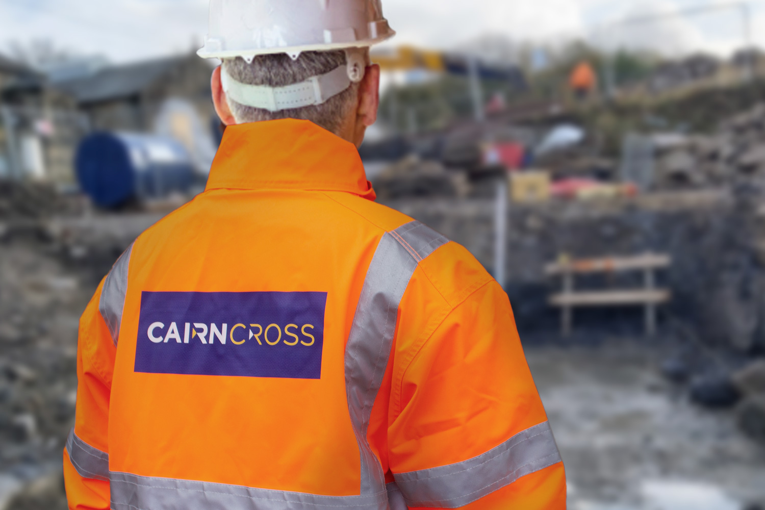 CAIRN CROSS UNVEIL NEW IDENTITY TO 'SHAPE FUTURE INFRASTRUCTURE'