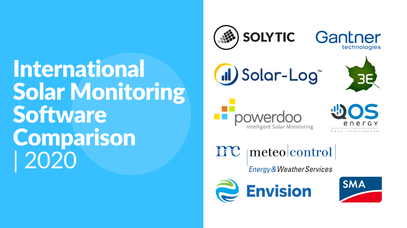 PV Monitoring Software Comparison: Up to 87% Savings Potential