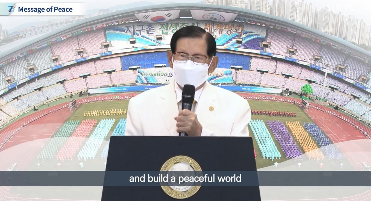 """World Peace Summit Calling for Concerted Action for Sustainable Peace in the """"New Normal"""" Era"""