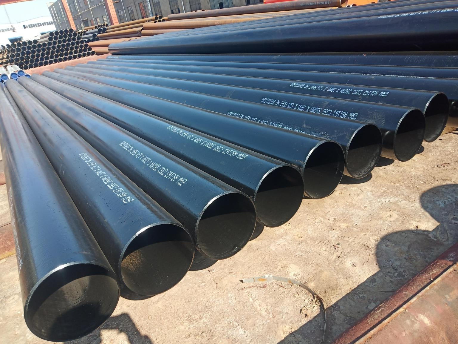 ASTM A53 ERW Steel Pipe Inspection Process