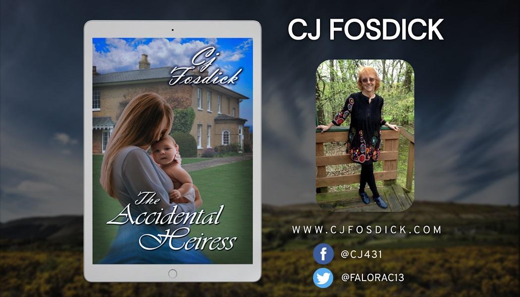Author Cj Fosdick Releases Romantic Suspense Novel – The Accidental Heiress