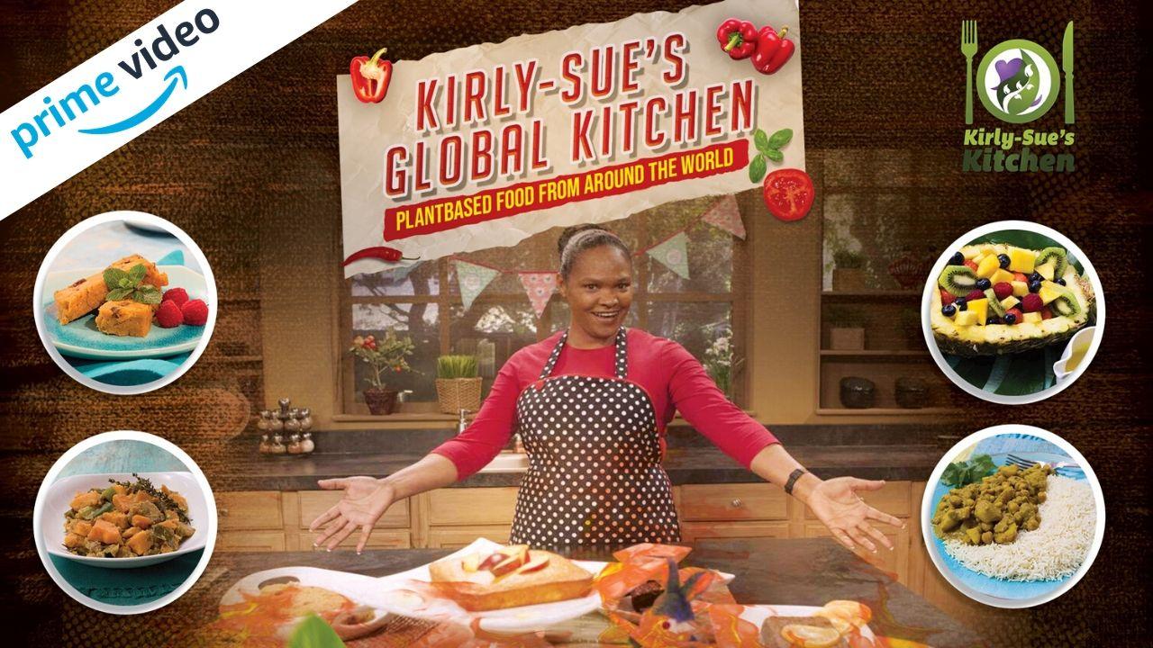 New vegan cooking show filmed in the U.K. & Jamaica debuts on Amazon Prime this week.