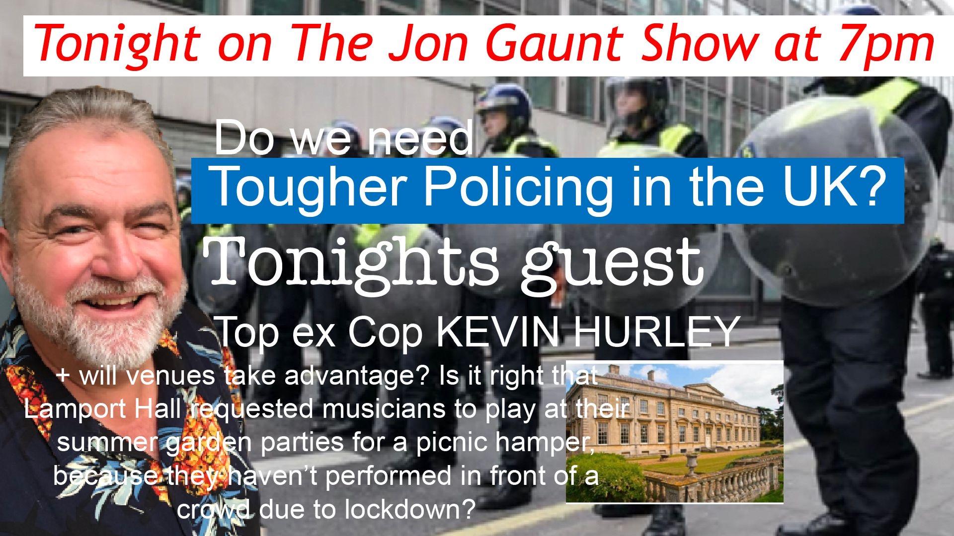 Tonight's Jon Gaunt TV show