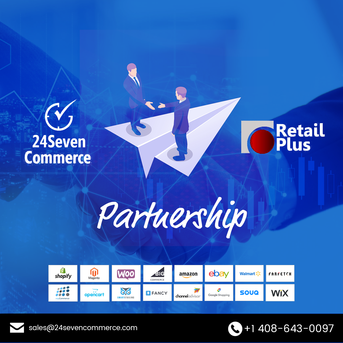 24SevenCommerce and Retail Plus POS Come Together to Offer POS eCommerce Integration to Retailers