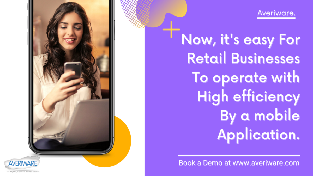 A mobile app for retail businesses and distribution