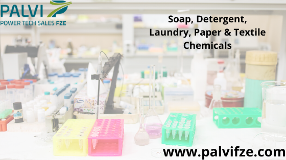 Looking For Soap, Detergent, Laundry, Paper & Textile Chemicals?