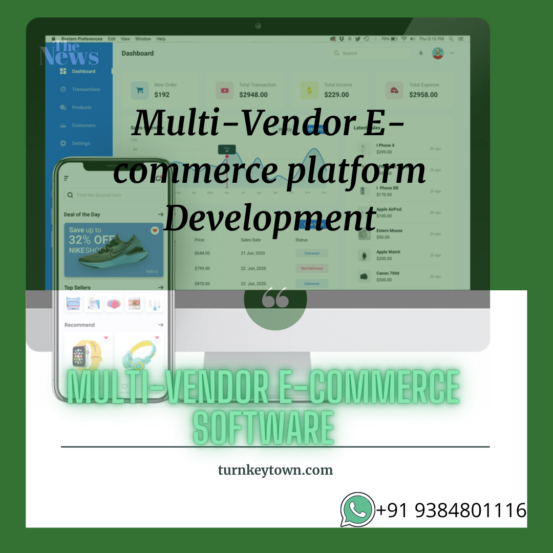 Developing the on-demand multi vendor e-commerce software