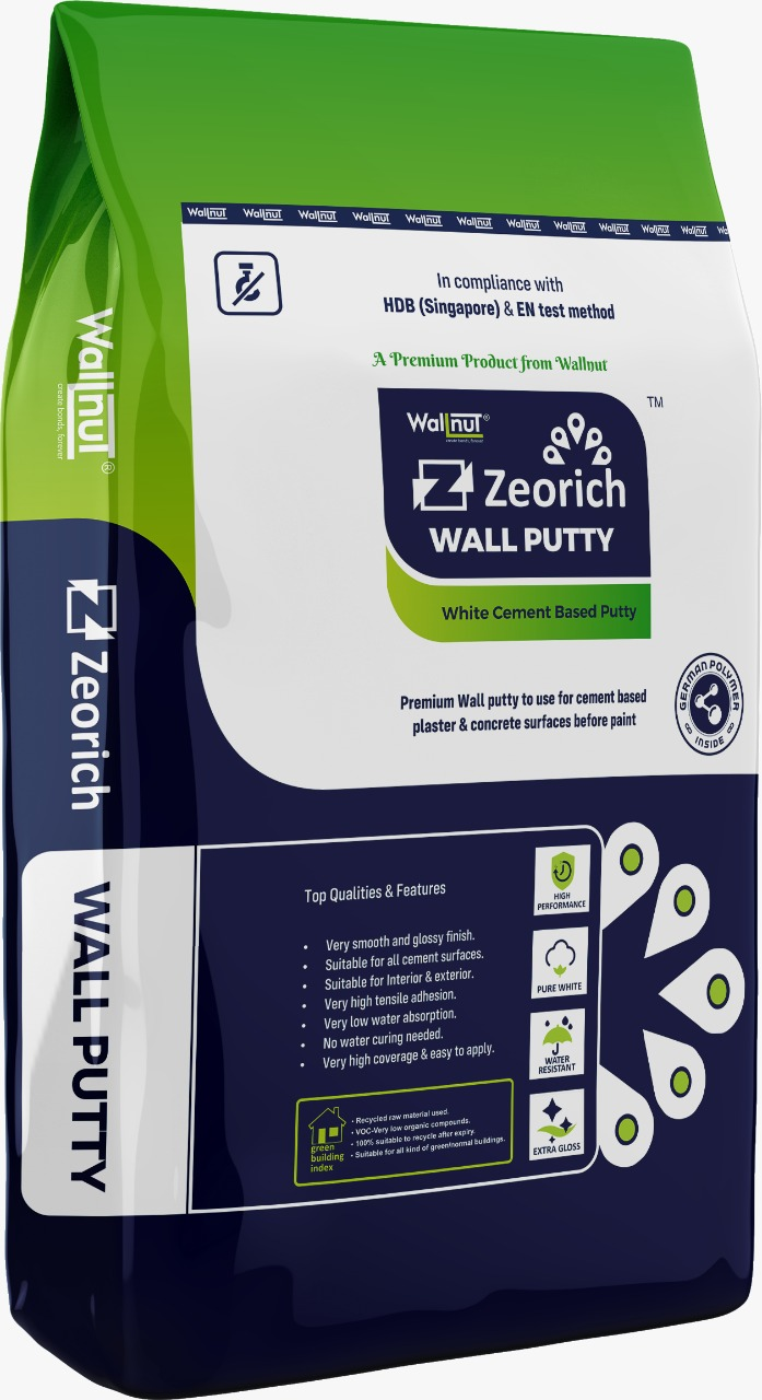 Another Launch By Wallnut - Zeorich Premium Wall Putty