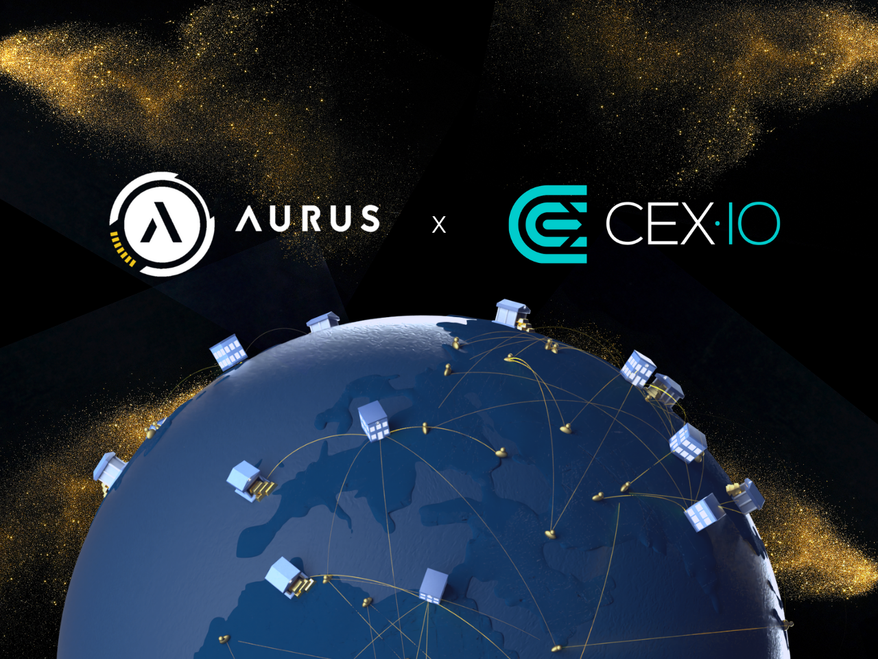 Aurus Technologies Announces the listing of AurusGOLD and AurusDeFi on CEX.IO Exchange