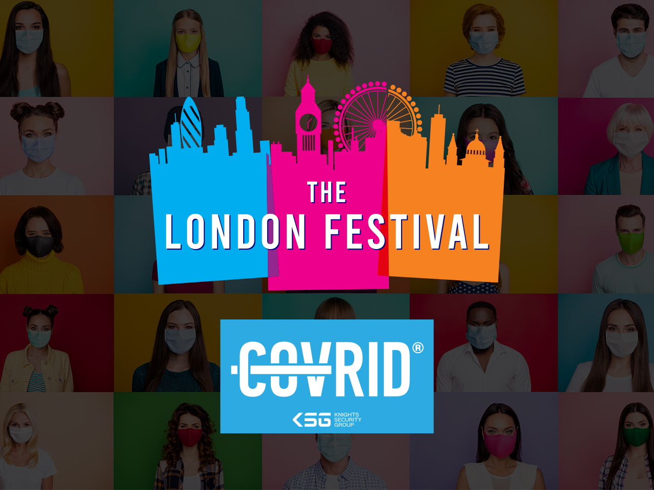 New partnership between The London Festival and Knights Security Group sets gold standard for Covid secure events.