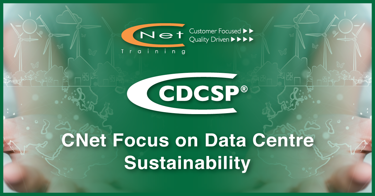 CNet Training Focus on Data Centre Sustainability