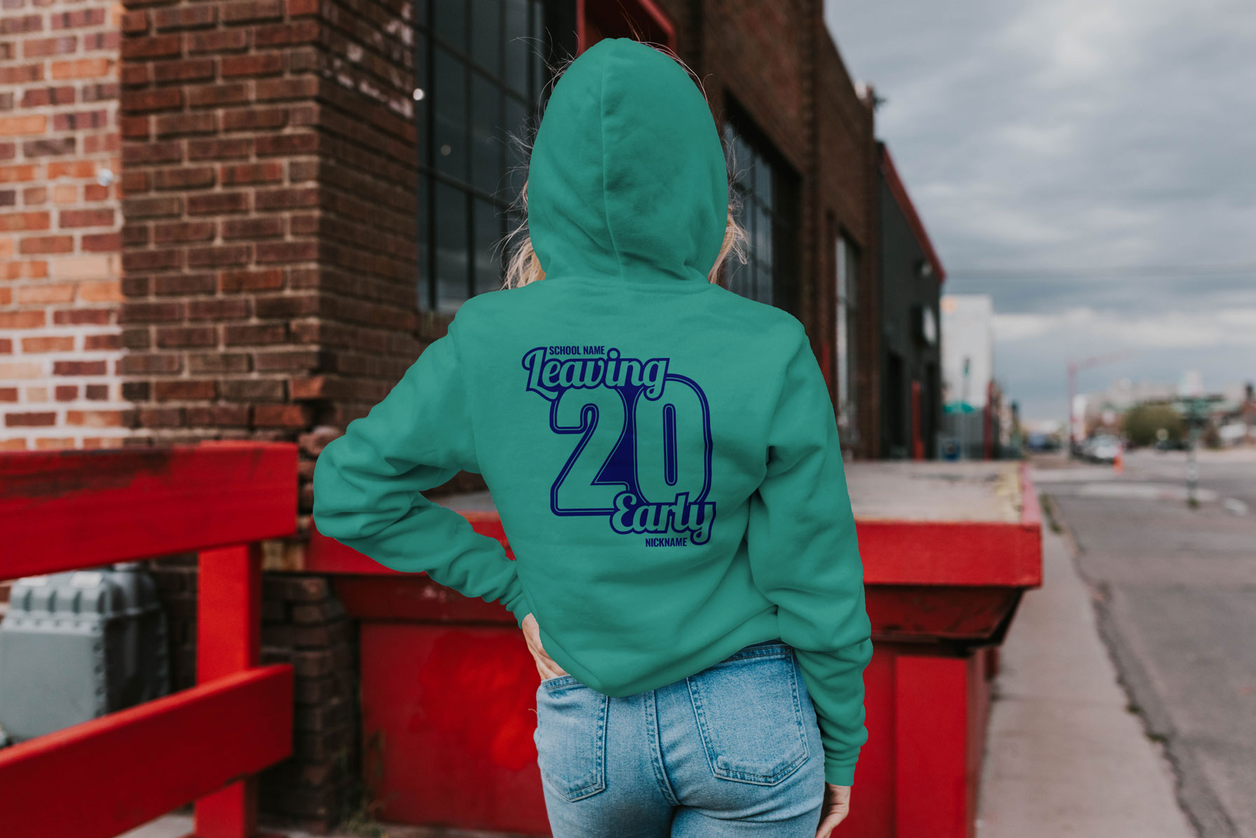 Move aside Covid-19! Our Early Leavers School Hoodies banish kids blues.
