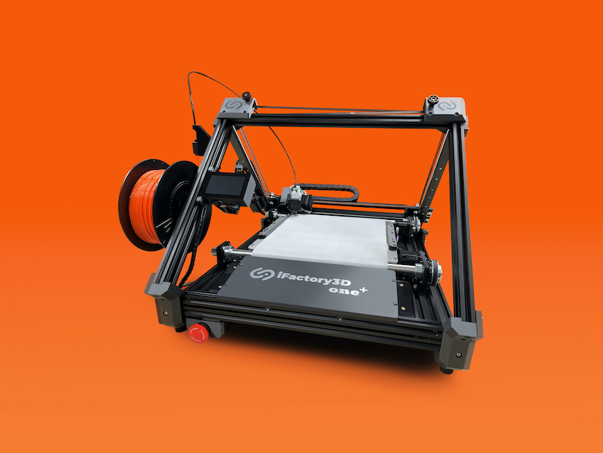 iFactory3D Launches Modified Conveyor Belt 3D Printer, the iFactory One Plus