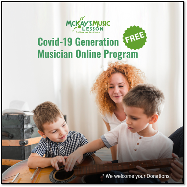 McKay's Music Lessons Launches FREE Online Music Lessons for Students during the COVID-19 Pandemic