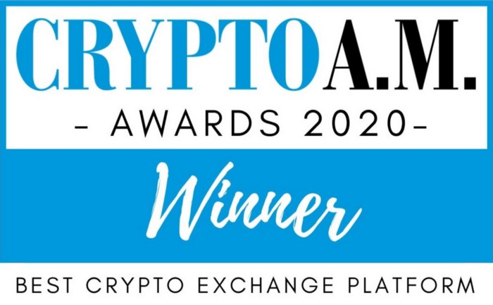 CryptoAM Awards coinpass global Best Cryptocurrency Exchange of 2020