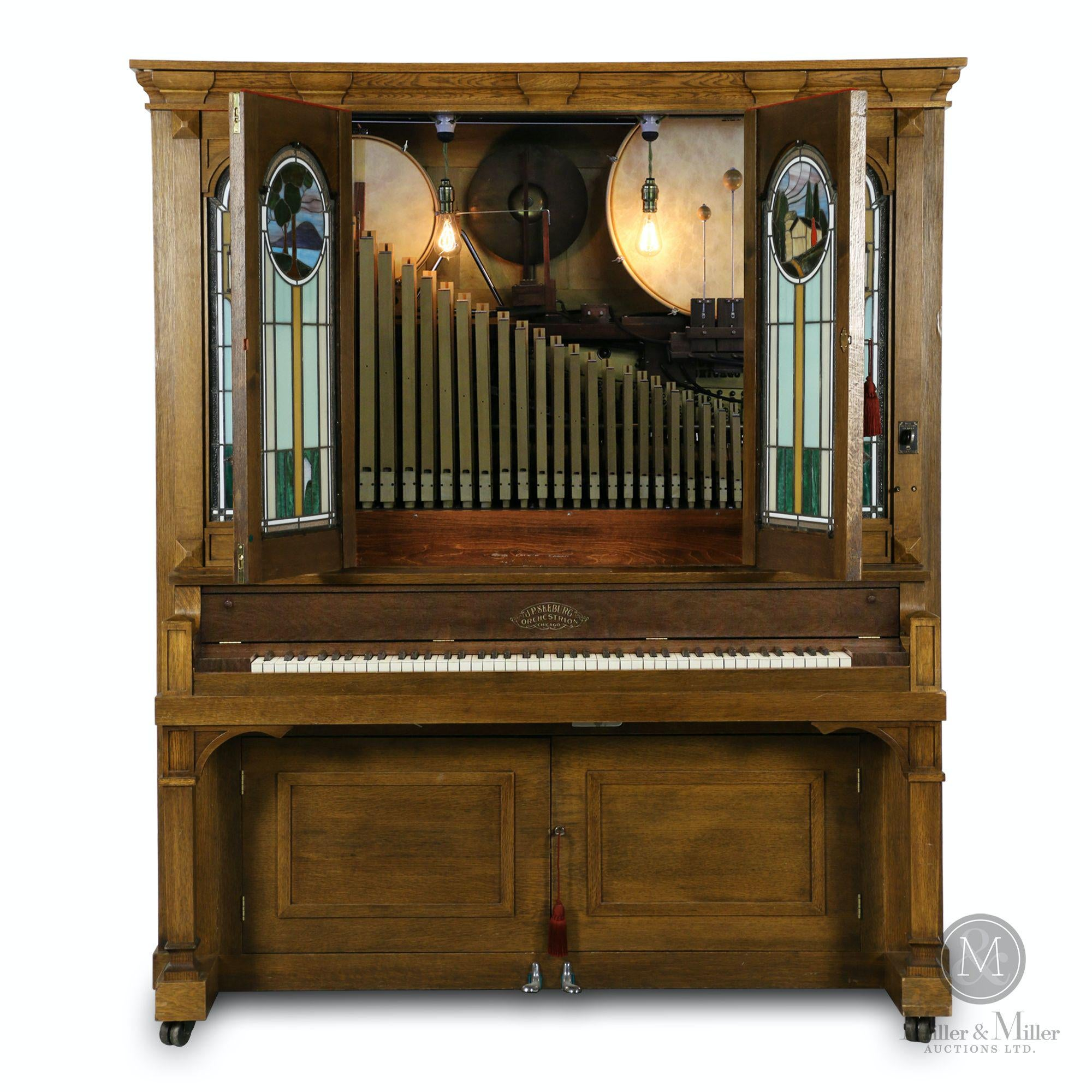 Big Beautiful Music Machines from The 1890s-1940s Dominate The List of Top Lots in Miller  Miller's Sept. 19th Auction