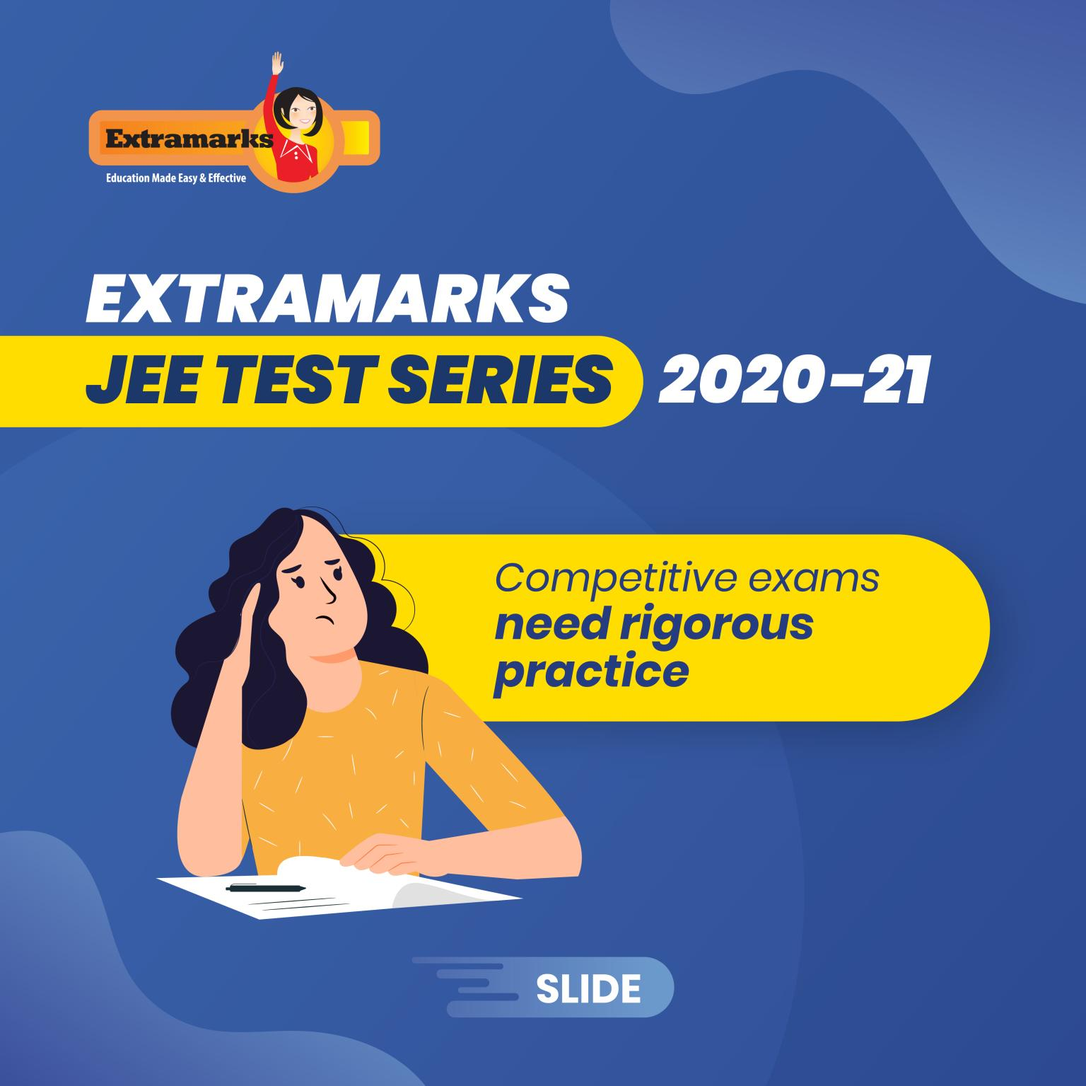 Through the Test Series, you can learn new concepts, practice your lessons and resolve your doubts with direct guidance from experienced teachers.