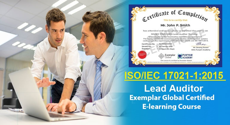 Punyam Academy Announces the Launch of ISO/IEC 17021-1:2015 Lead Auditor Training e-learning course