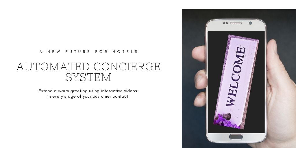 2b Acting's Automated Concierge System for hotels creates a new industry for Actors