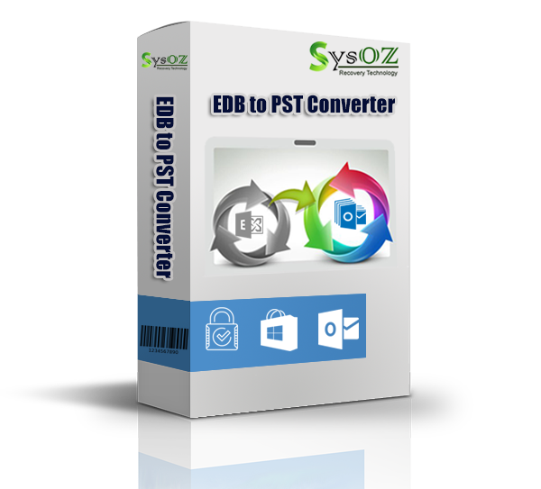 Use SysOZ EDB to PST Converter for Recovery and visibility of Deleted of EDB files