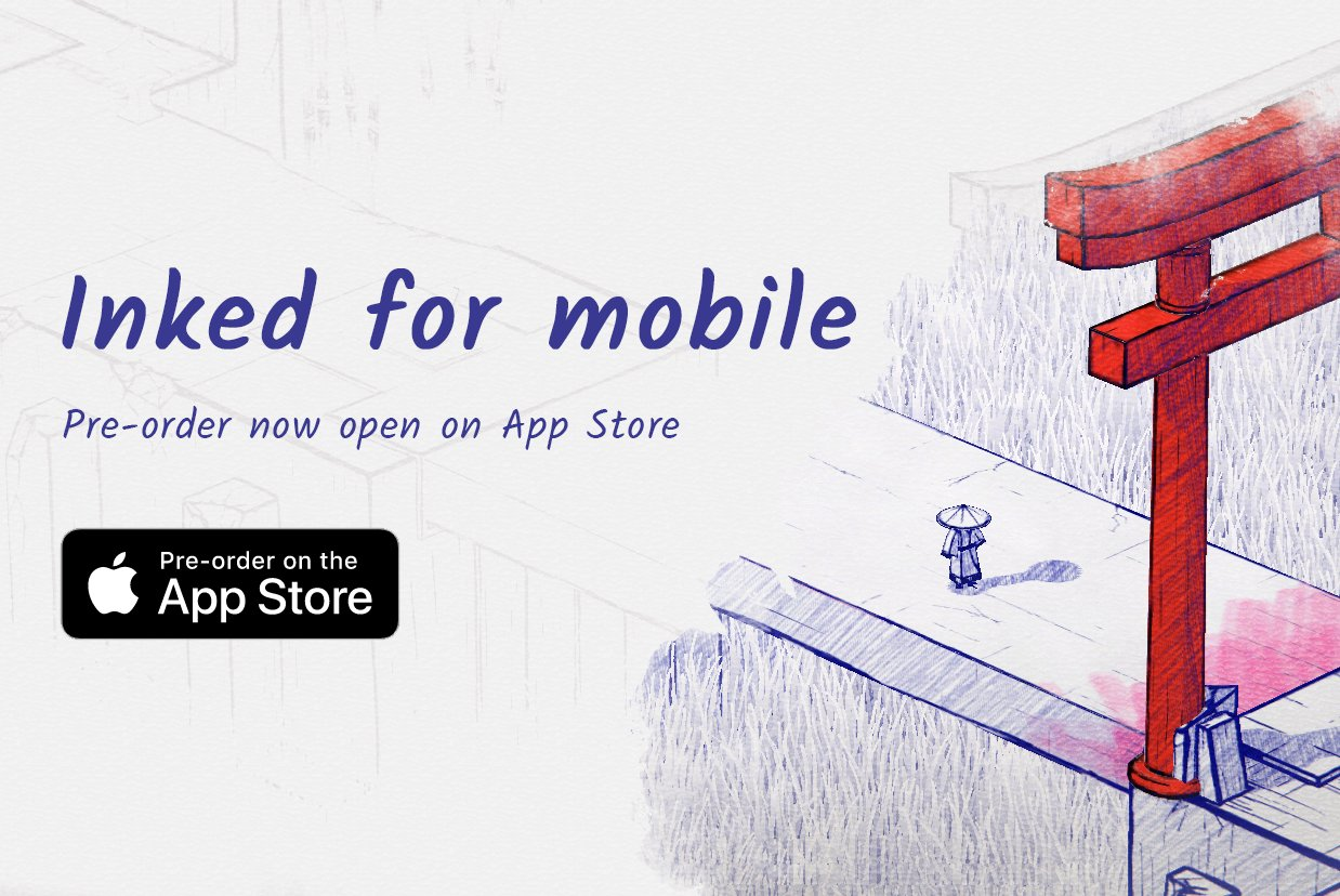 Inked Ready for Pre-Order on App Store
