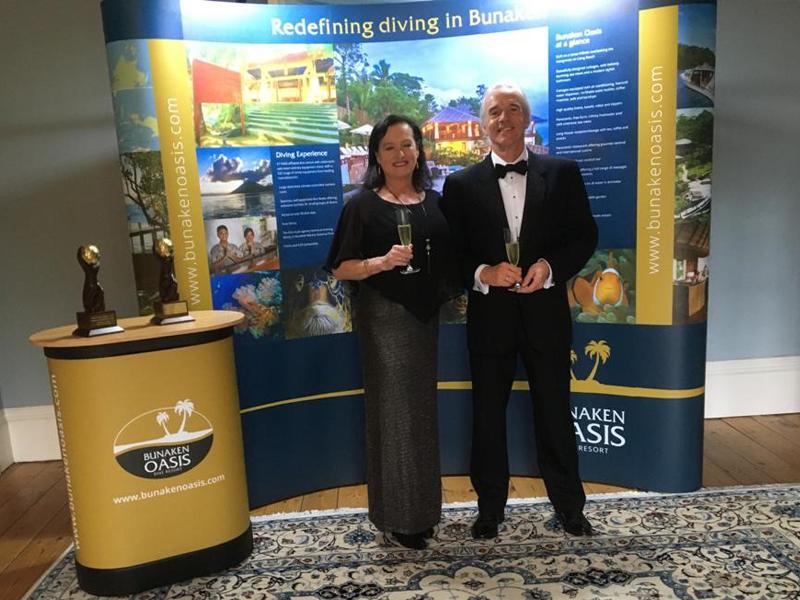 Bunaken Oasis wins the hat-trick at the World Travel Awards