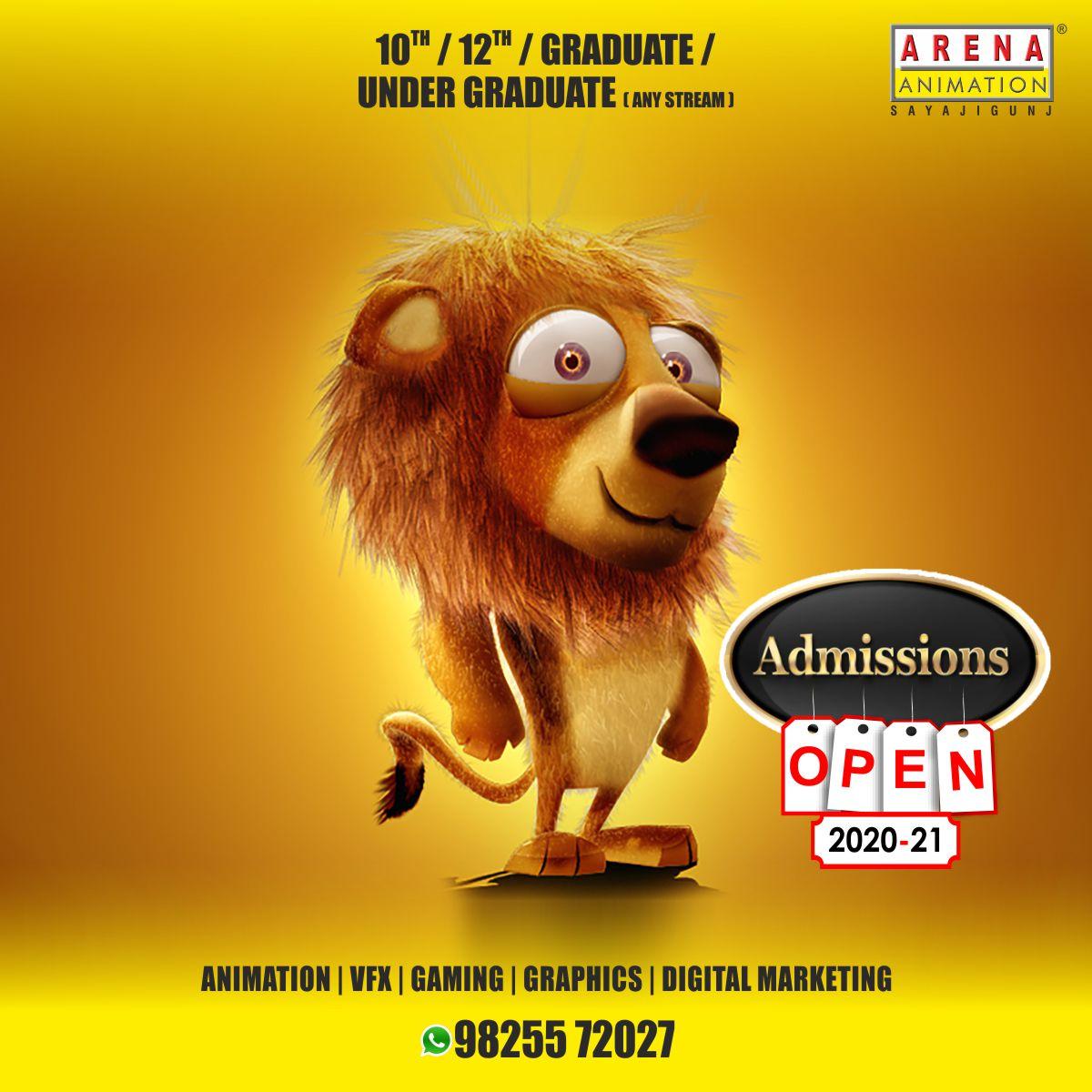 No. 1 Institute of Animation, VFX, Gaming, Film Making, Graphics  Digital Marketing