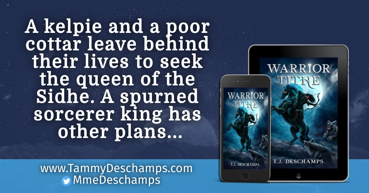 Author T.J. Deschamps Releases New Fantasy Novel - Warrior Tithe