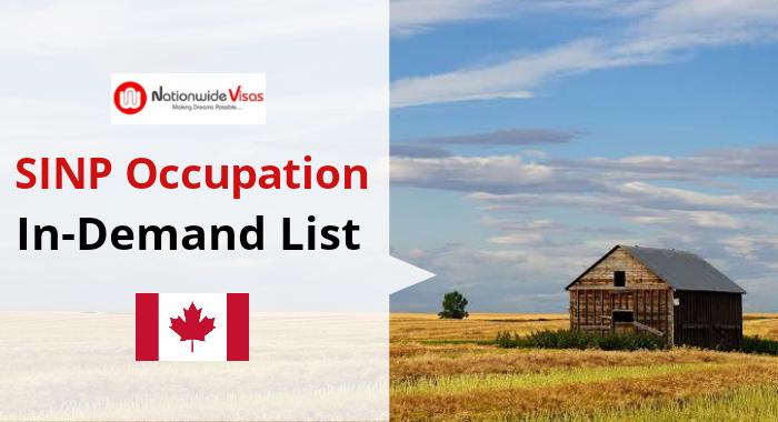 SINP Occupation in-Demand List