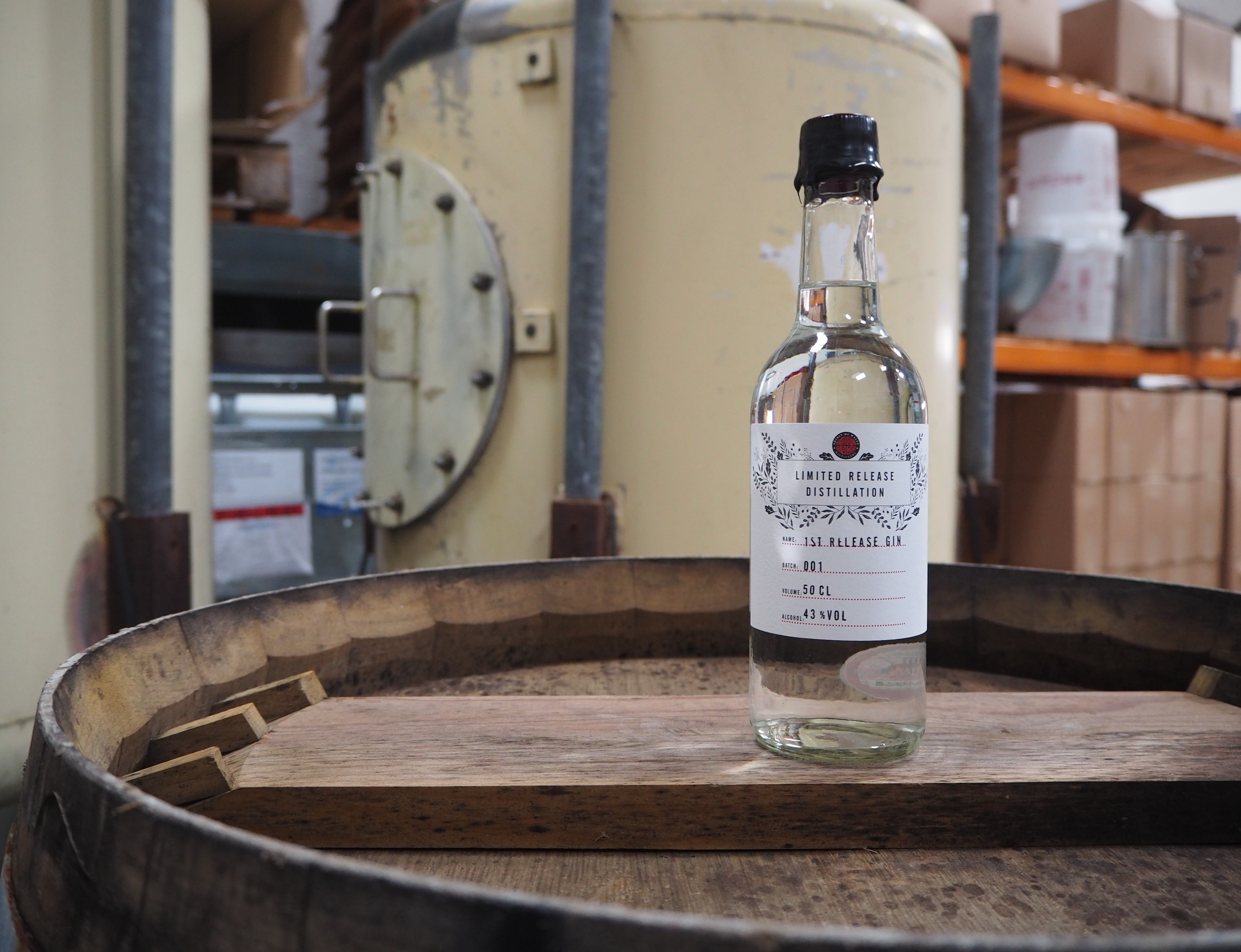 The Spirit of Wales Distillery launches their first limited-edition Welsh Gin and Welsh Vodka in Newport, South Wales.