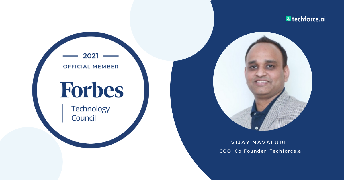 Vijay Navaluri accepted into Forbes Technology Council