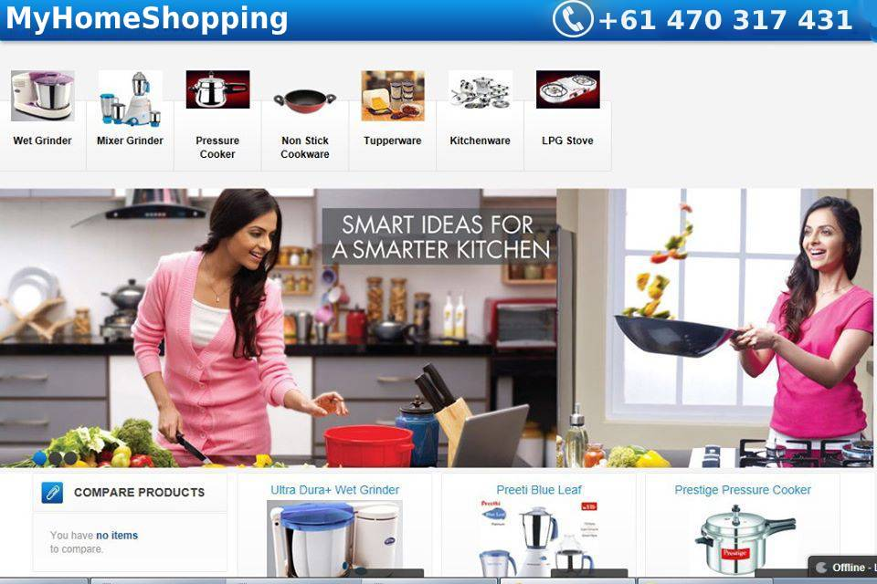 My Home Shopping Mixer Grinder Online Collections - Find here All-in-One Shopping Zone For Kitchen Appliances in the UK