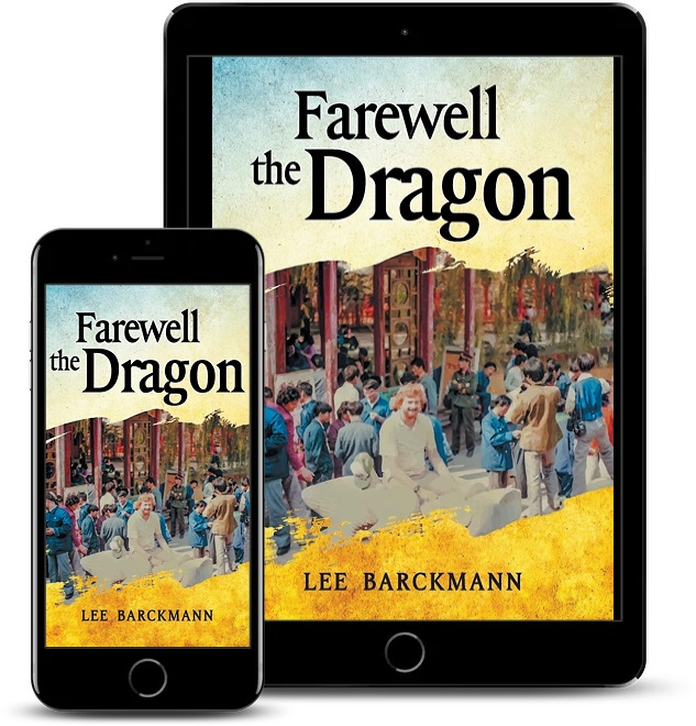 Author S. Lee Barckmann Releases New International Mystery – Farewell the Dragon