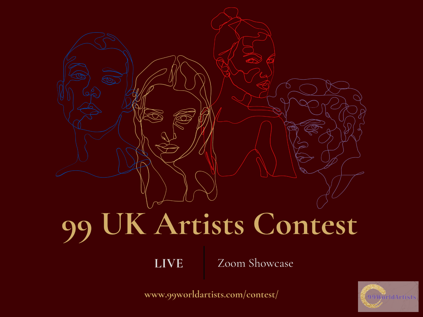 99 WORLD ARTISTS Launch a Unique ONLINE LIVE EVENT to Select ARTISTS to Represent the UKEPRESENT THE UK