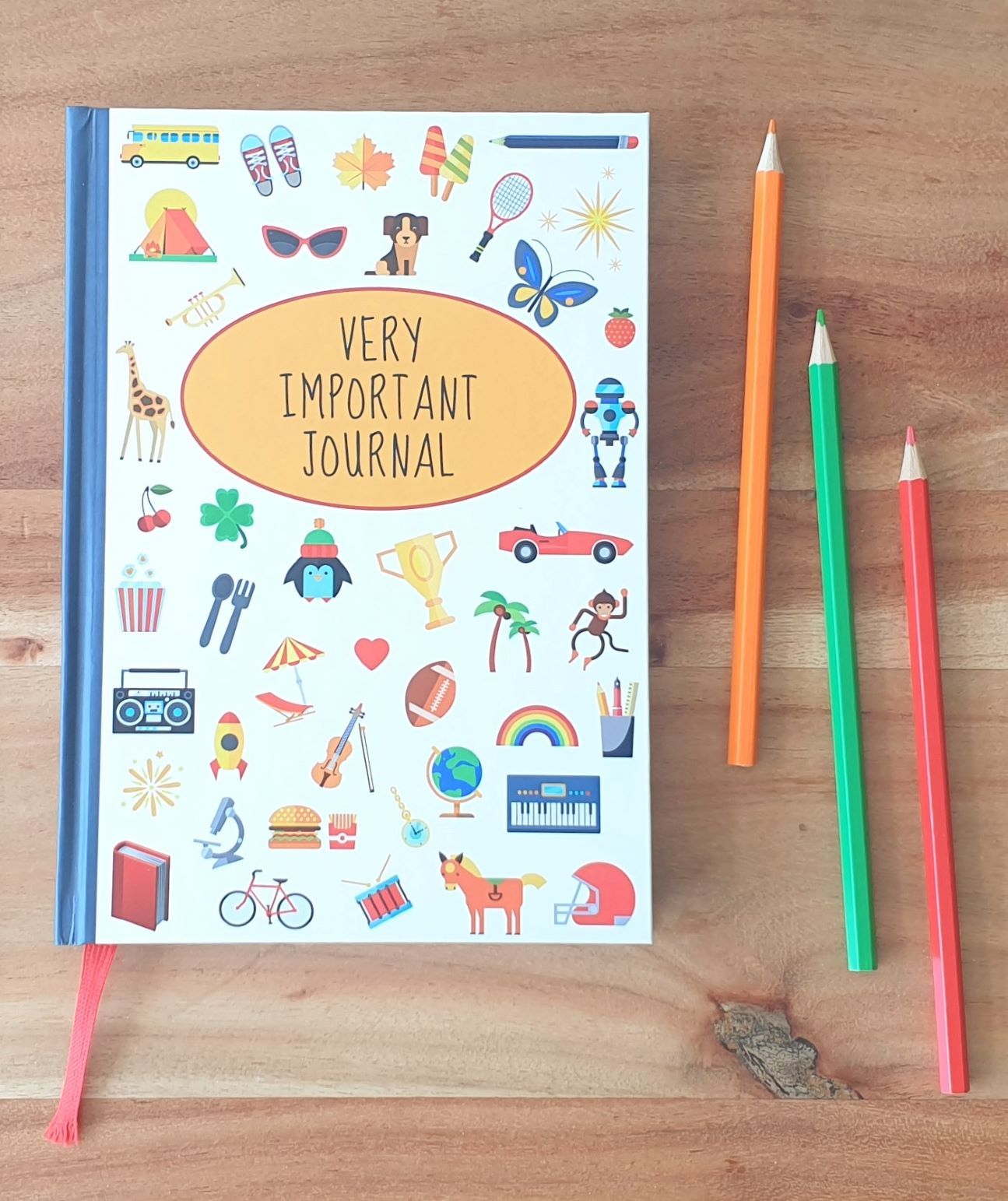 Very Important Journal - A Unique Journal for Kids
