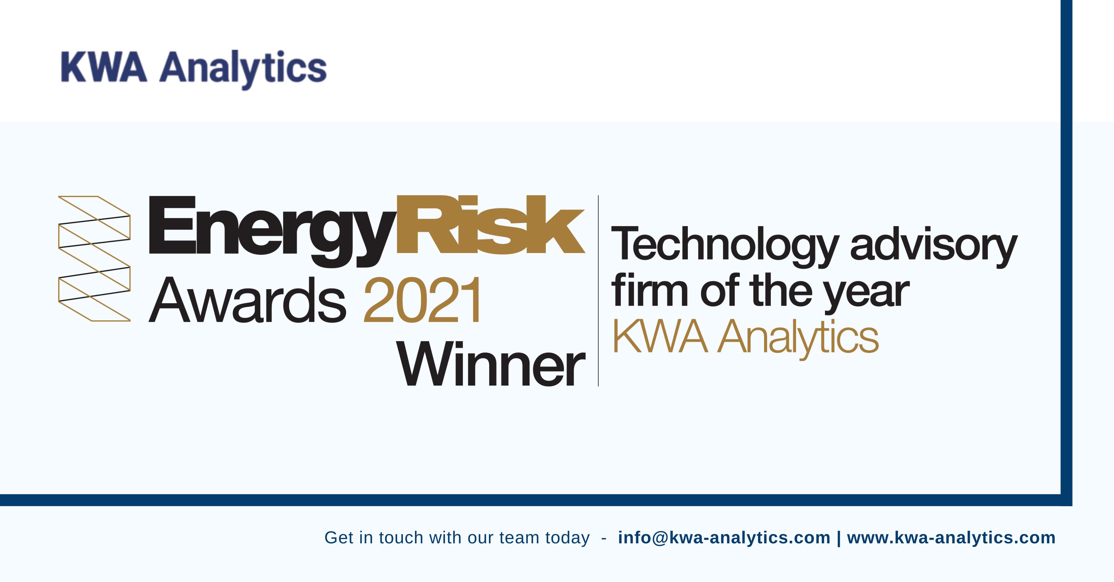 KWA Analytics Win Technology Advisory Firm of the Year 2021