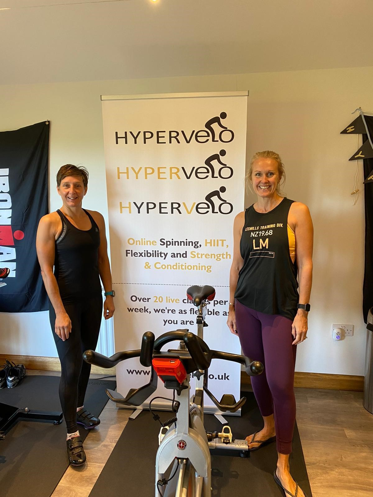 Hypervelo online fitness studio is keeping Worcestershire fit through Covid