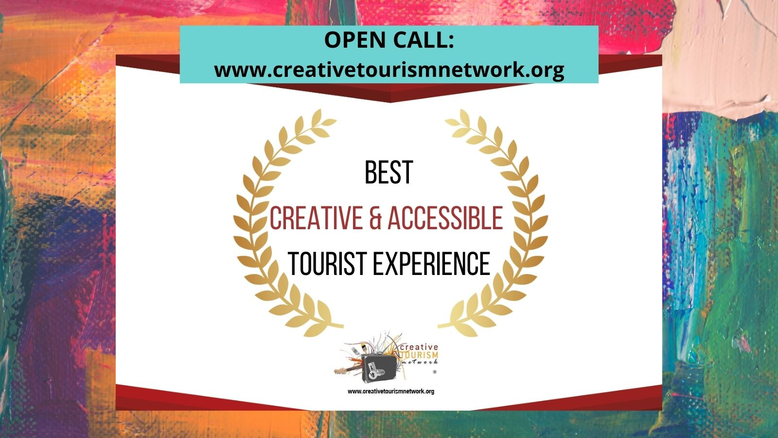 """Open Call:  """"Best Creative & Accessible Tourist Experience"""""""