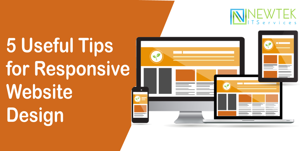 5 Useful Tips for Responsive Website Design