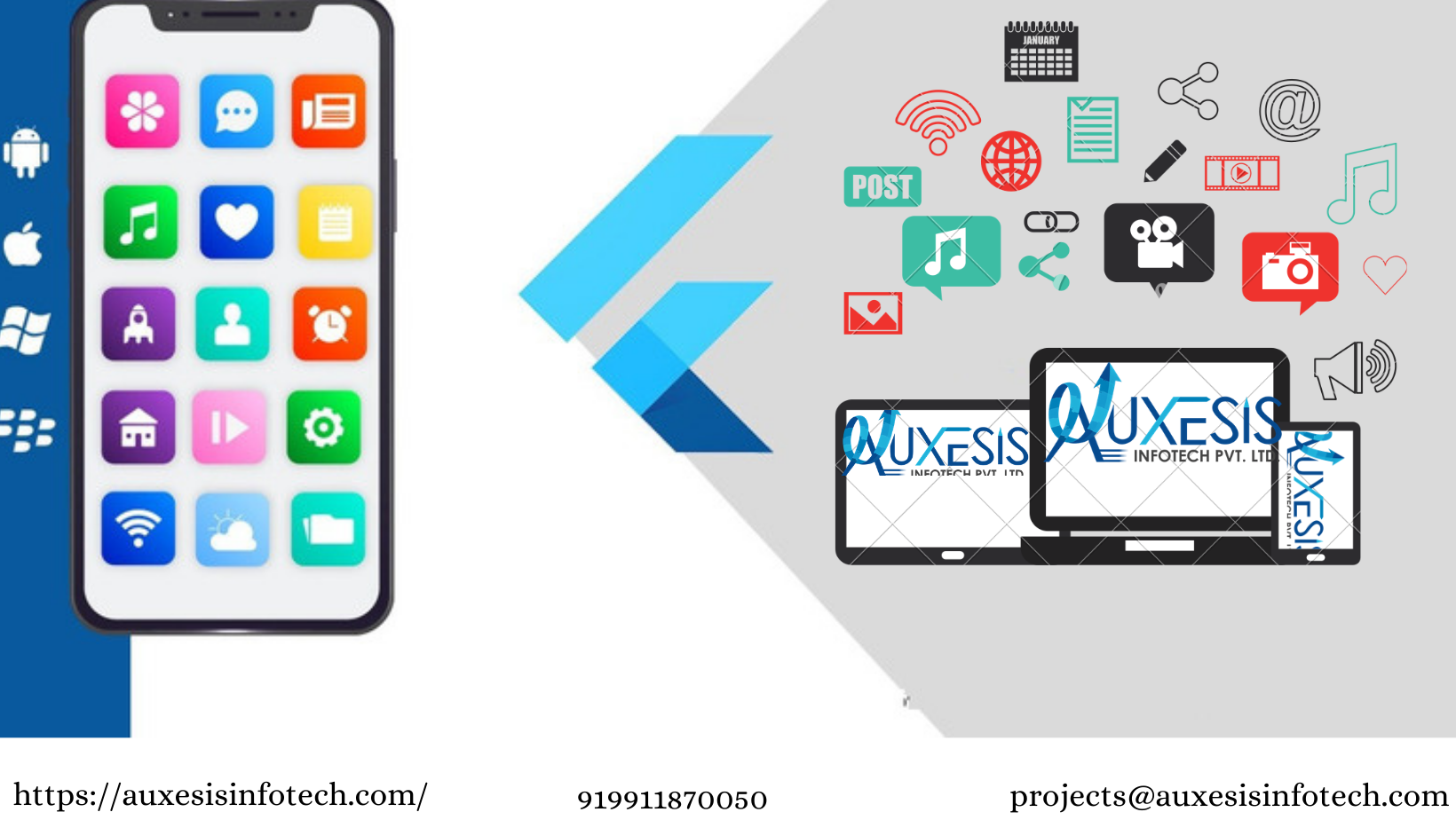 Make a Successful Mobile App For Your Business With Best Specialists at Auxesis Infotech - Press Release