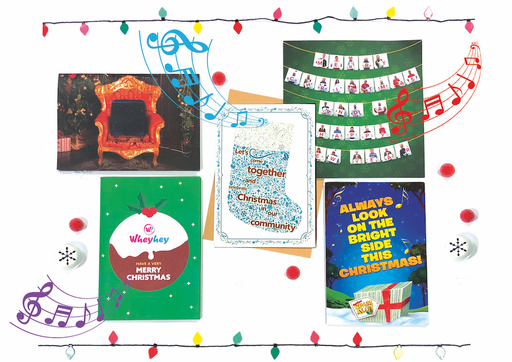 Branded Audio Christmas Cards could be a creative part of this year's marketing push