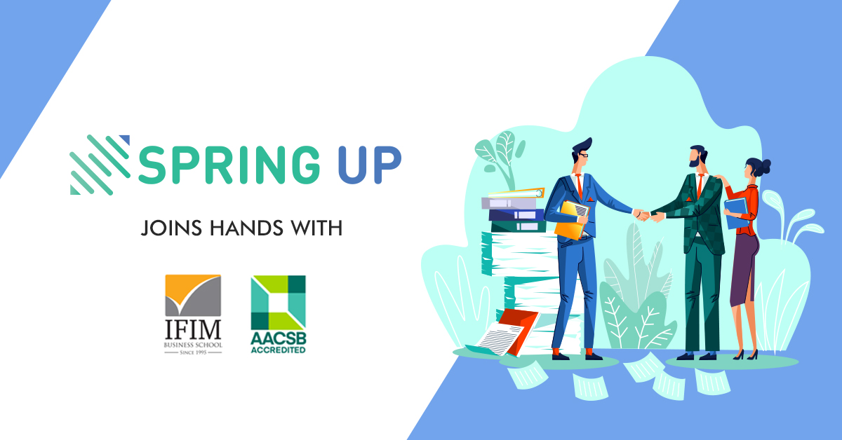 IFIM business school and SpringUp capital Announce Partnership to build a collaborative ecosystem to enhance student entrepreneurial activities and support campus start-ups.